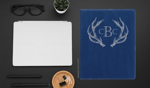 Antler Leatherette Portfolio - Vegan Leather, Legal Pad