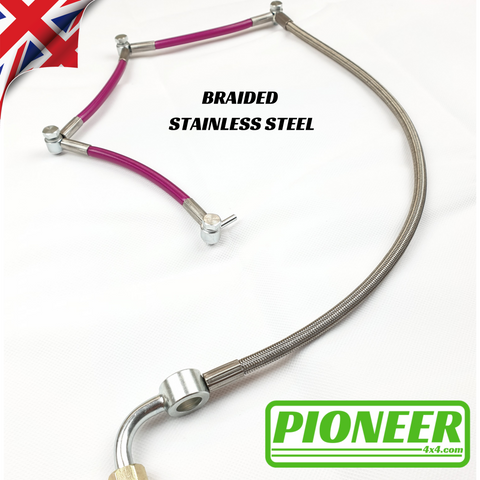 Land Rover Defender 200 Tdi Diesel Leak Off Pipe Spill Rail Kit