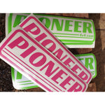 Pioneer 4x4 Decal Stickers 250MM X 80MM