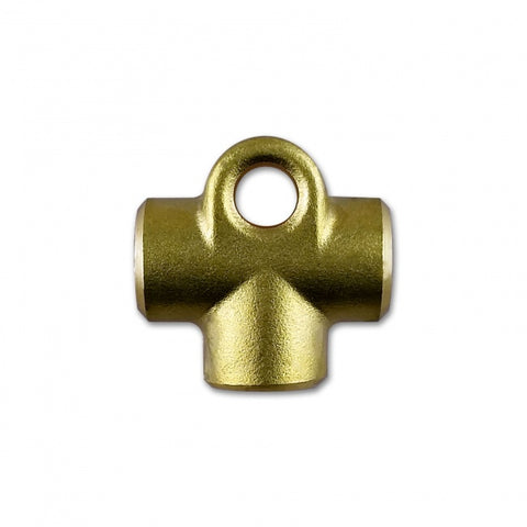 "FEMALE T-PIECE - 3/8"" X 24 UNF (-3 JIC)"