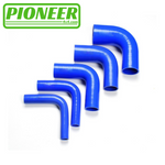 SILICONE 90 DEGREE REDUCER 152MM LEG