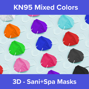 KN95 (22 Pack), 2 Each of 11 Mixed Colors (Individually Packaged)
