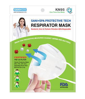 Certified KN95 (Pack of 20, Individually Packaged): GB2626-2006 Respirator Mask