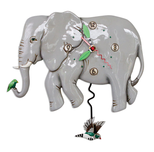 Elephante Clock & Planter