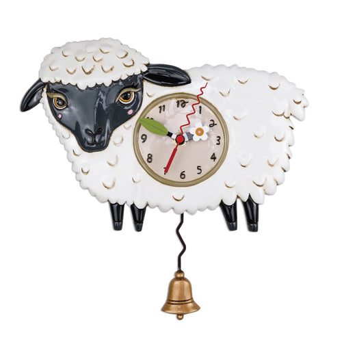 Sheep Clock & Planter