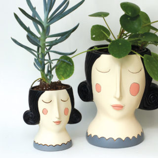 Rose Girl Planters