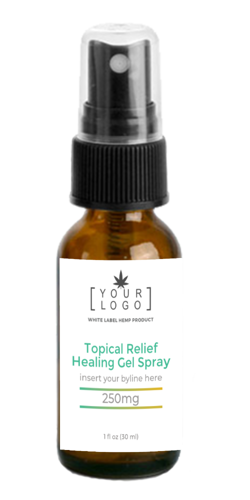 250mg Pet Skin Relief Spray