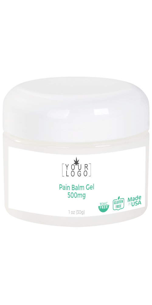 500mg Topical Pain Balm Gel