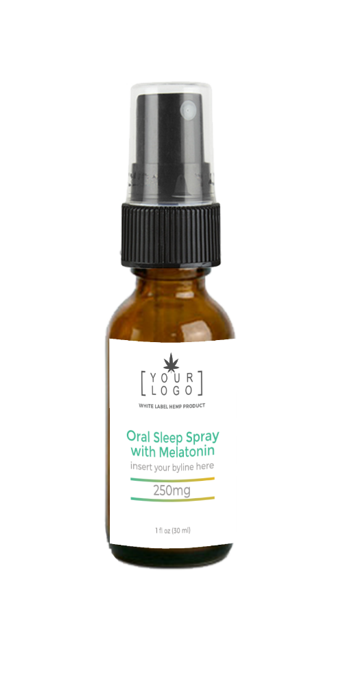 250mg Sleep Spray w/ Magnesium and Melatonin - Tropical (Sample)