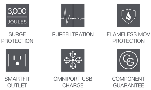 Austere V Series Power icons