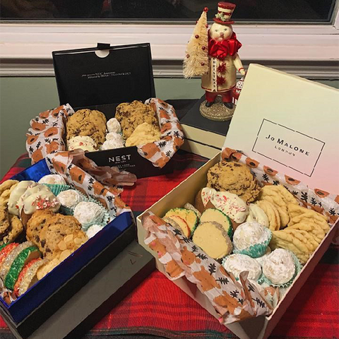 Austere Box Reuse - Holiday Cookies