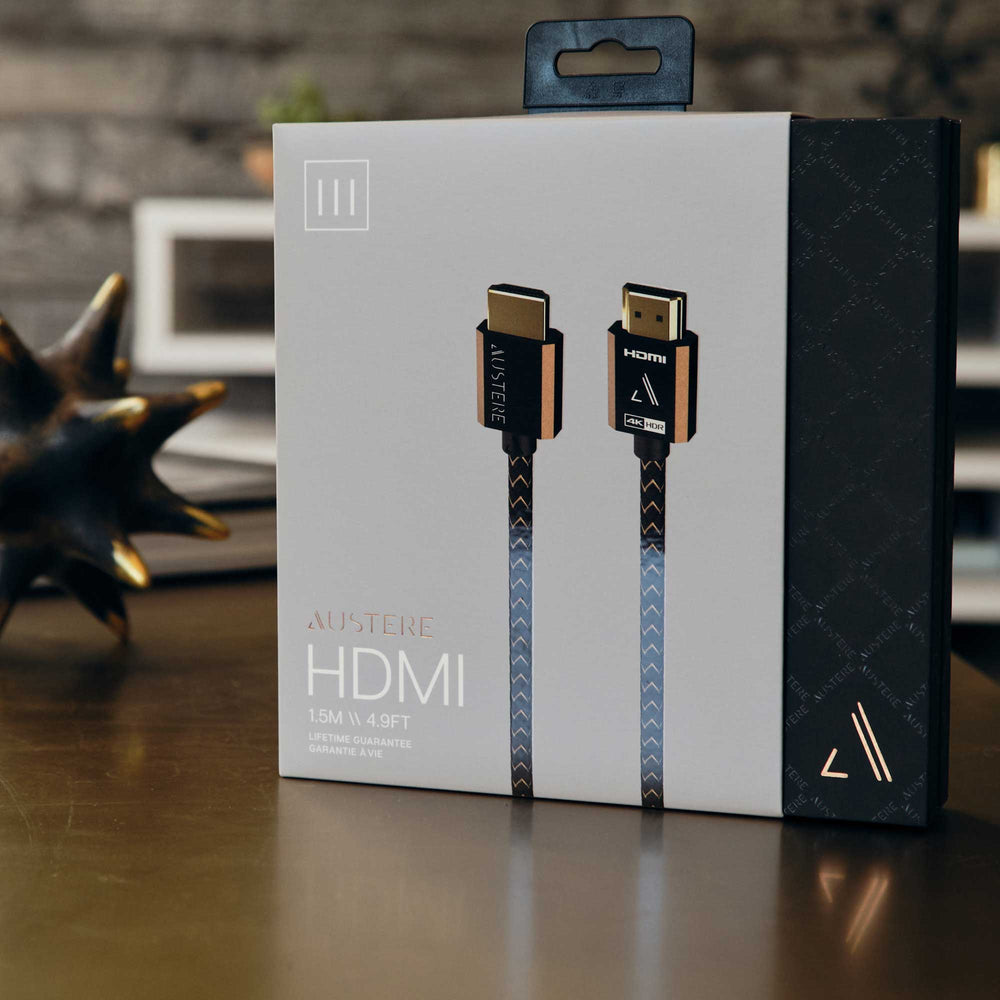 Austere Premium Certified HDMI Cable Packaging
