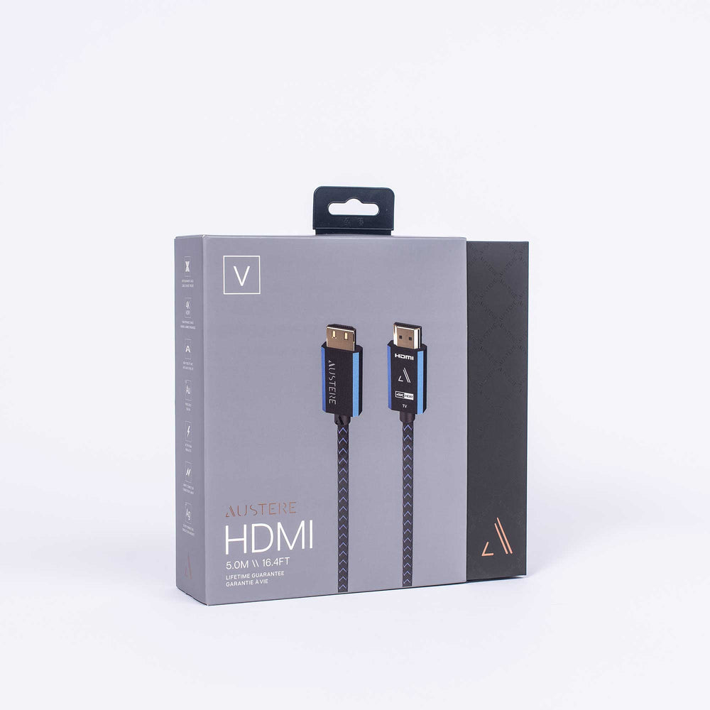 Austere V Series HDMI Packaging