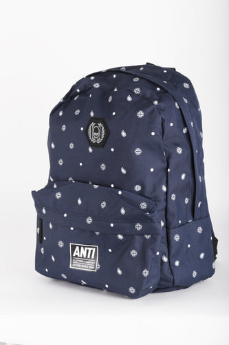 Backpack Bandana Weed Blue