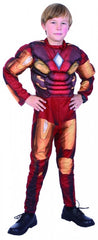 Iron Robot Muscle Suit - Child - Large