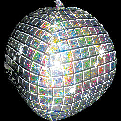 Disco Ball - Foil Balloon
