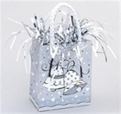 Gift Bag Balloon Weight - Wedding Bells