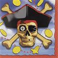 Pirate Luncheon Napkins - 2 ply