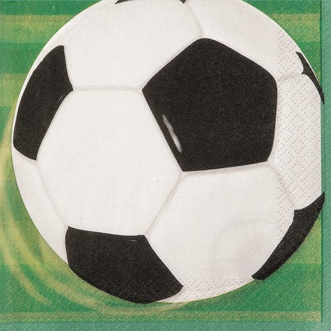 Soccer Luncheon Napkins - 2 ply (16 pack)