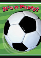Soccer Party Invitations (8 pack)