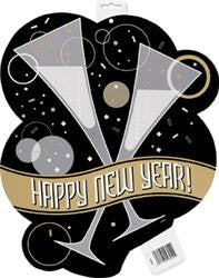 Bubbly New Year Cut Out