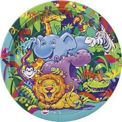 Safari Paper Dinner Plates (8 pack)