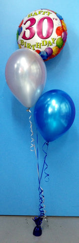 2 Metallic Balloon & Foil - Staggered