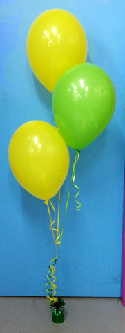 3 Standard Balloon Arrangement - Staggered