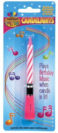 Musical Birthday Candle Plays When Lit