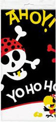 Pirate Fun Plastic Table Cover - Rectangle