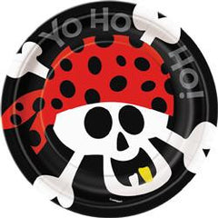 Pirate Fun Paper Snack Plates (8 pack)