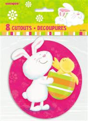 Bunny Pals Mini Cut Outs (8 pack)