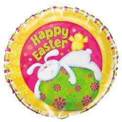 """Happy Easter"" Bunny Pals Foil Balloon"