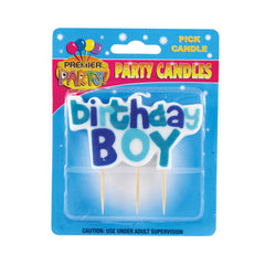Birthday Boy Pick Candle