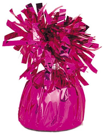 Foil Balloon Weights - Hot Pink