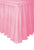 Lovely Pink Plastic Table Skirt (426cm)