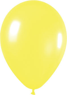 Standard Yellow Balloons (100 pack)