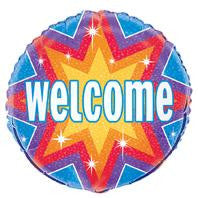 Welcome Dazzle - Foil Balloon - 46cm