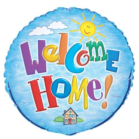 Welcome Home Foil Balloon - 46cm