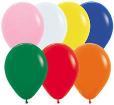 Standard Assorted Colours Balloons (25 pack)