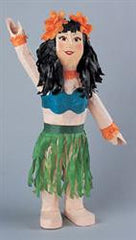 Luau Party Hula Dancer Pinata