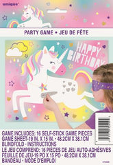 Unicorn Party Blindfold Game