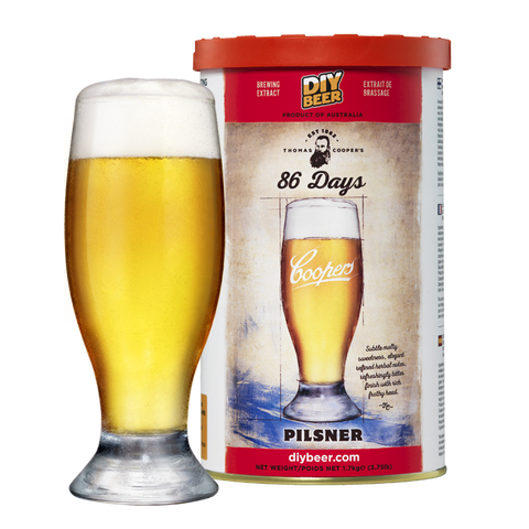 Thomas Coopers 86 Days Pilsner 1.7KG