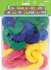 Hawaiian Leis (4 pack)