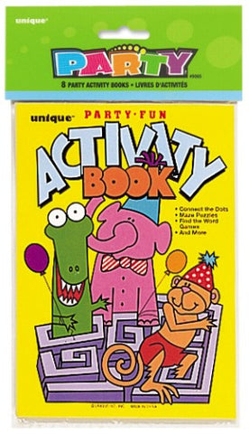 Activity Books (8 pack)