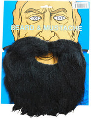 Beard & Moustache - Black