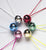 Disco Ball Necklace - Metallic (1 unit)