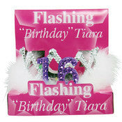 Flashing 16th Birthday Tiara