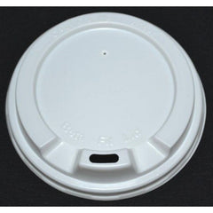 8oz Beta Grip Coffee Cup Lids - White (50 pack)