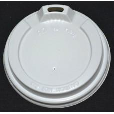12oz Beta Grip Coffee Cup Lids - White (50 pack)